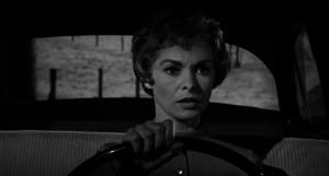 Marion Crane Driving Psycho