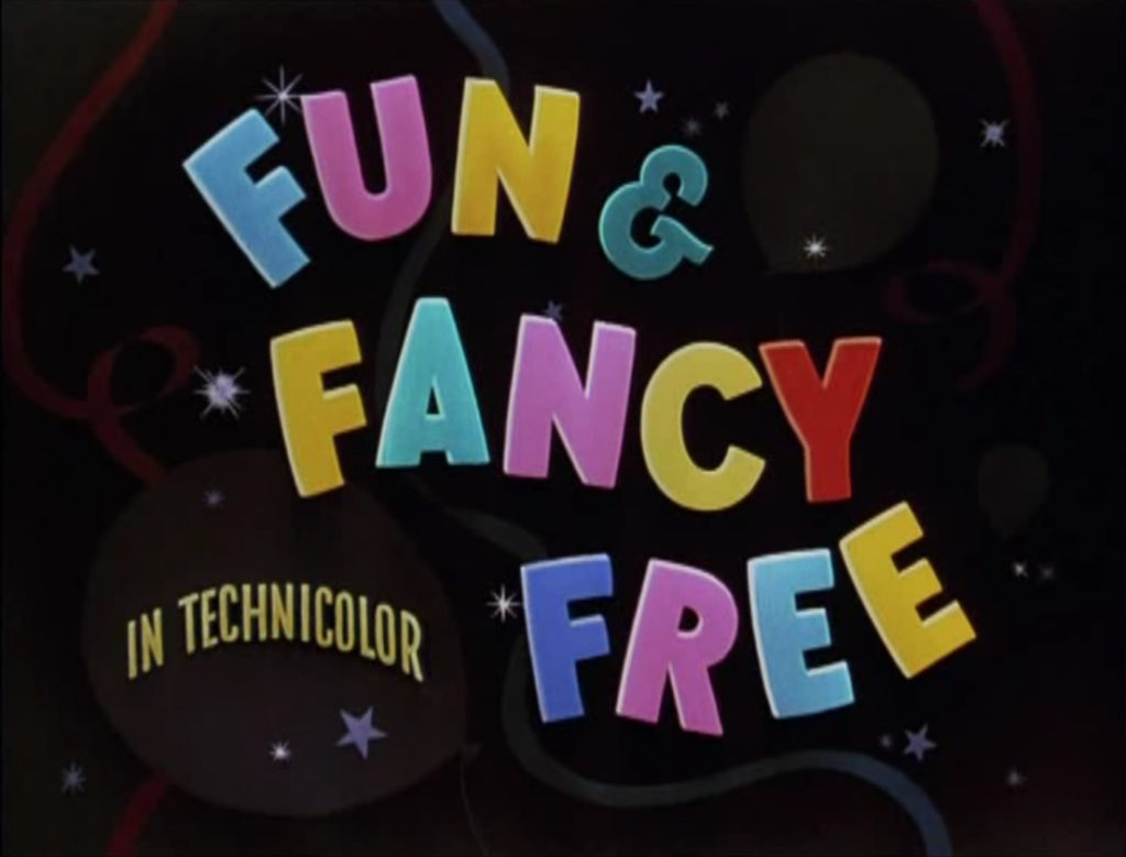 Fun & Fancy Free Title Card