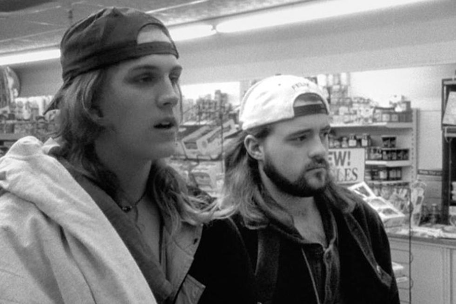 Clerks Jay and Silent Bob
