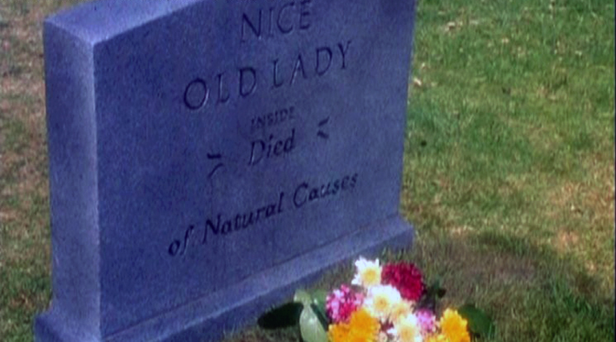 Don't Tell Mom the Babysitter's Dead Tombstone