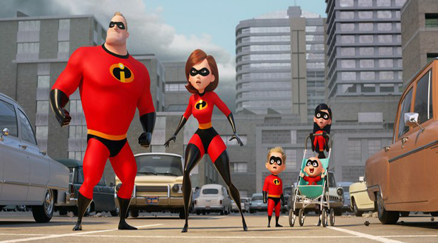 Incredibles 2 Family