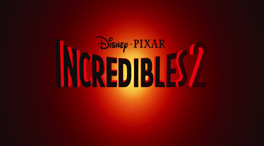 Incredibles 2 Title