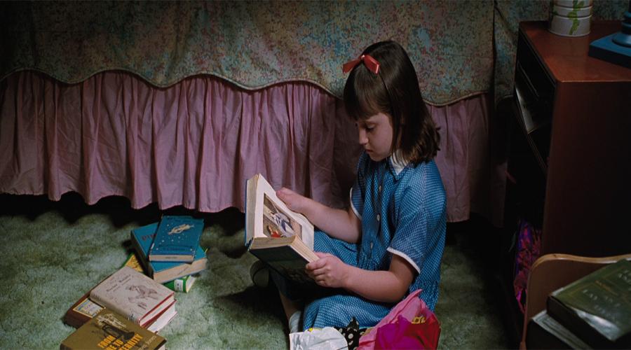 Matilda Reading Again