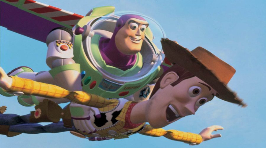 Toy Story Falling With Style